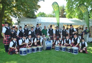The Clan Pipers Frankfurt & Distric Pipe Band