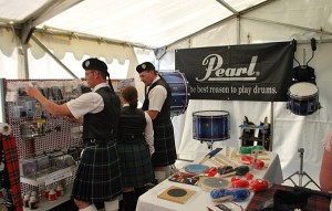 A good selection of Pipe Band Supplies