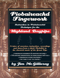 McGillivray's Piobaireachd Fingerwork