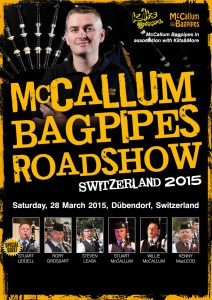 McCallum Bagpipes Roadshow