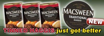 MacSweens tinned haggis